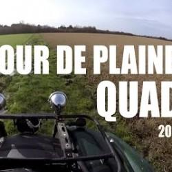 Tour de plaine en quad Janvier – 2016
