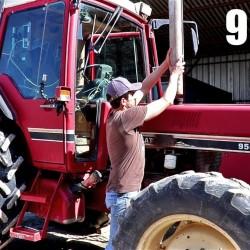 L'entretien du tracteur de 95 chevaux – 2018