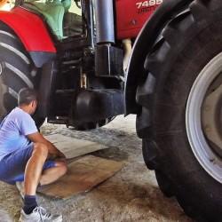 Panne électronique sur le tracteur – 2018